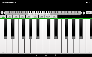 Screenshot of Keyboard Sounds Free