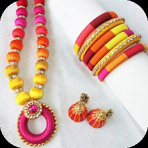 App silk thread jewellery designs apk for windows phone for Treasures jewelry jefferson mall