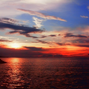 Sunset On Manado City by Ony Elnyno - Instagram & Mobile Other