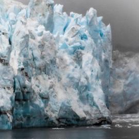 Lamplugh Glacier, Alaska by Robert Willson - Landscapes Caves & Formations ( water, glacier, lamplugh glacier, lamplugh, ice, alaska, glacier bay )