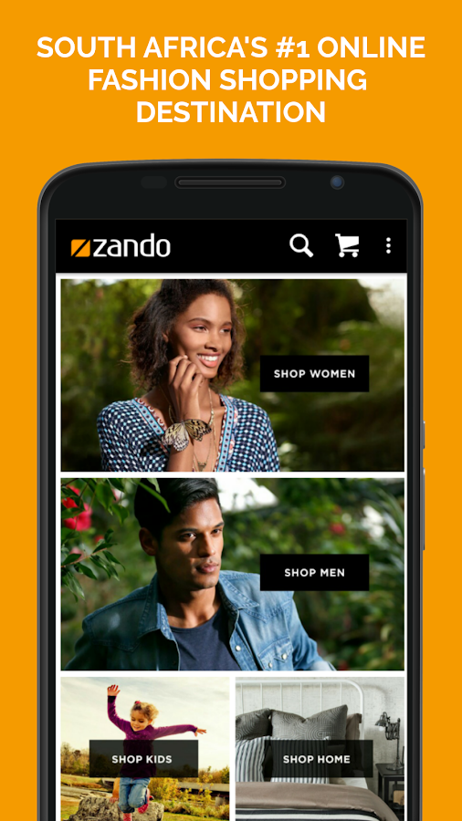Zando Fashion Online Shopping Screenshot 0