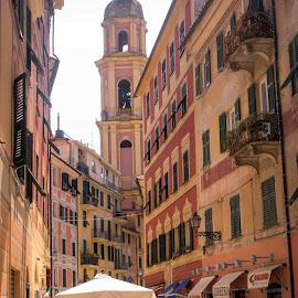 Santa Margherita by Andrew Moore - City,  Street & Park  Street Scenes