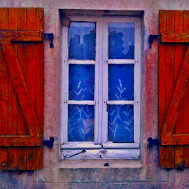 Window decay  by Dobrin Anca - Buildings & Architecture Decaying & Abandoned ( window, street, funny, brittany, decay )