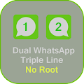 App Whats Dual Lines App GB apk for kindle fire
