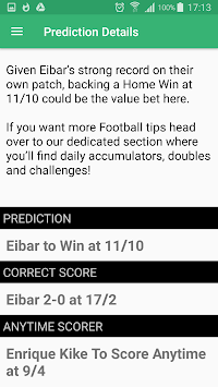 Football Bet Predictions APK screenshot thumbnail 3