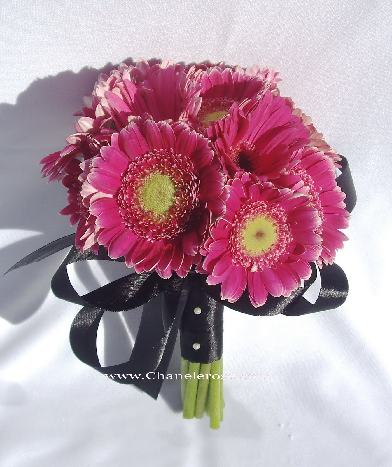 Gerbera bouquets and Wedding