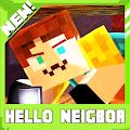 Neighbor hello. Minecraft map APK for Bluestacks