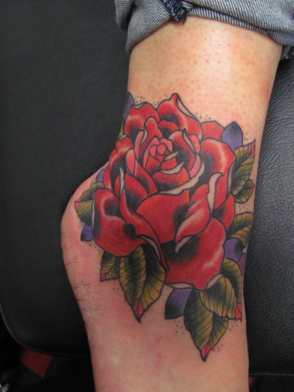 I love doing roses!
