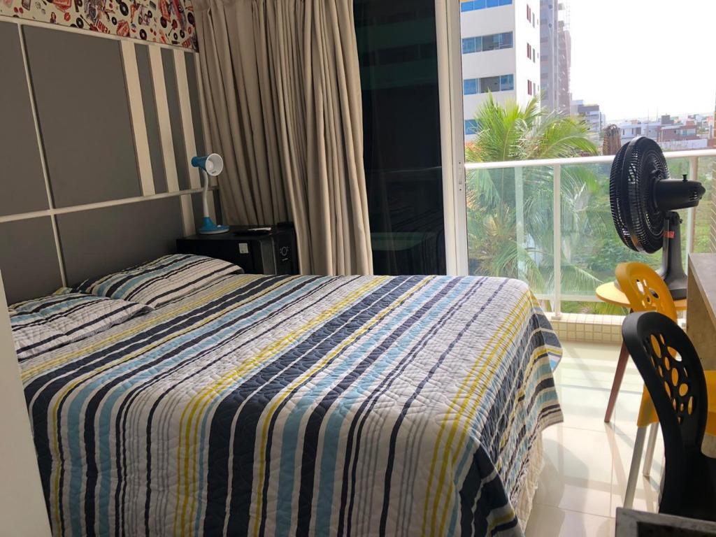 Flat a beira mar com 1 dormitório para alugar, 18 m² por R$ 1.400/mês - Intermares - Cabedelo/PB