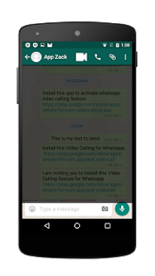 Video Calling for Whatsapp - screenshot