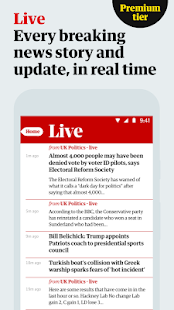 The Guardian - Breaking News, Sport & Top Stories Screenshot