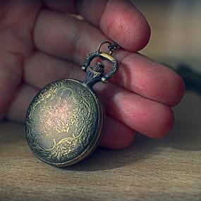 Hidden time by Zenonas Meškauskas - Artistic Objects Antiques ( hidden, watch, time, hand, pocket )