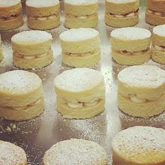 Gluten free mini Victoria sponges