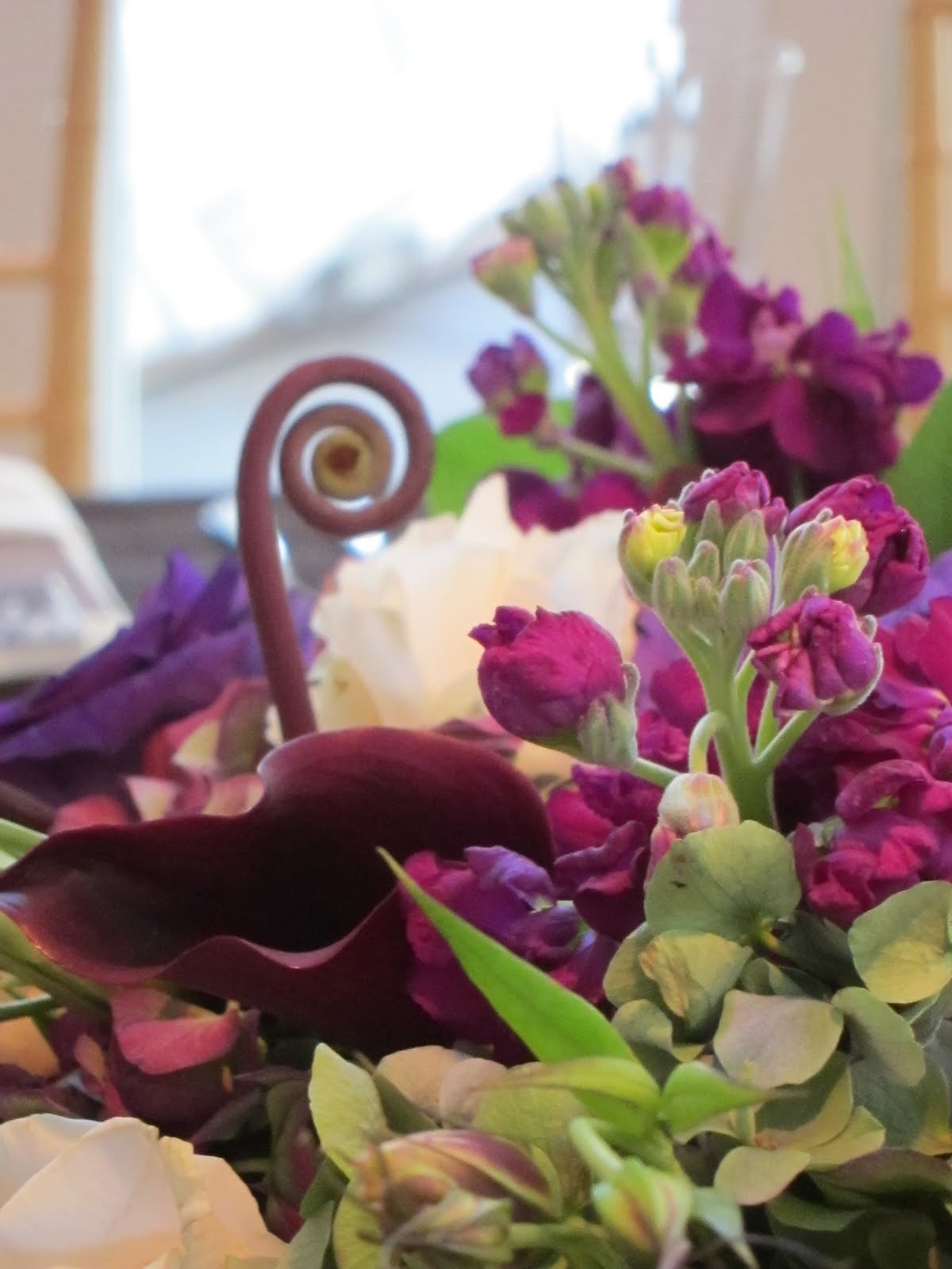 Purple Fall Wedding at the