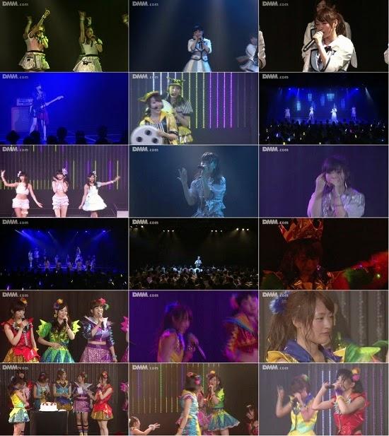 """(LIVE)(公演) NMB48 チームN """"ここにだって天使はいる"""" 小谷里歩の生誕祭 140824"""
