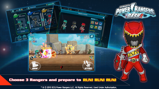 Power Rangers Dash - screenshot