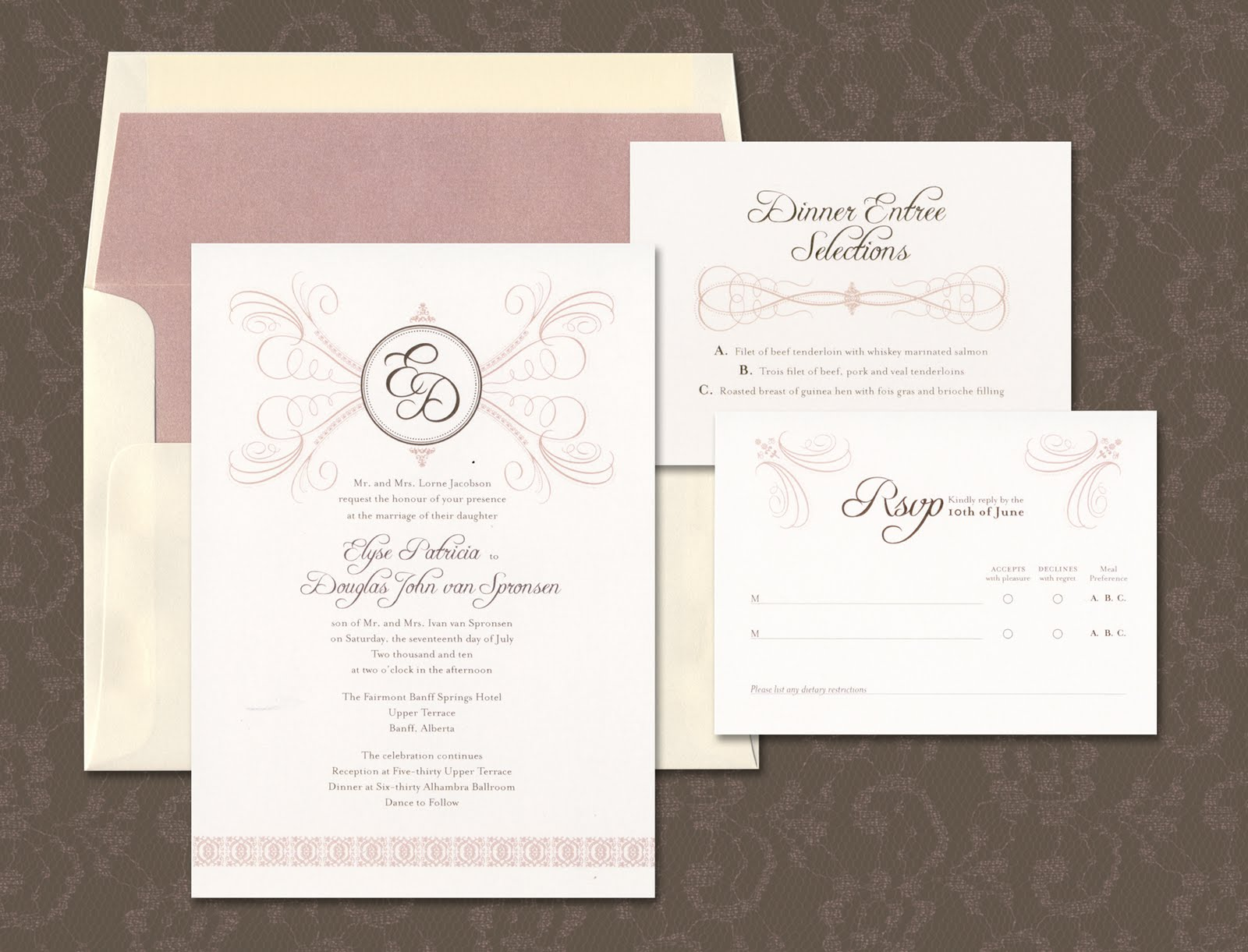 Felicia\'s blog: wedding program template word