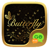 Download FREE-GO SMS BUTTERFLY II THEME APK for Laptop