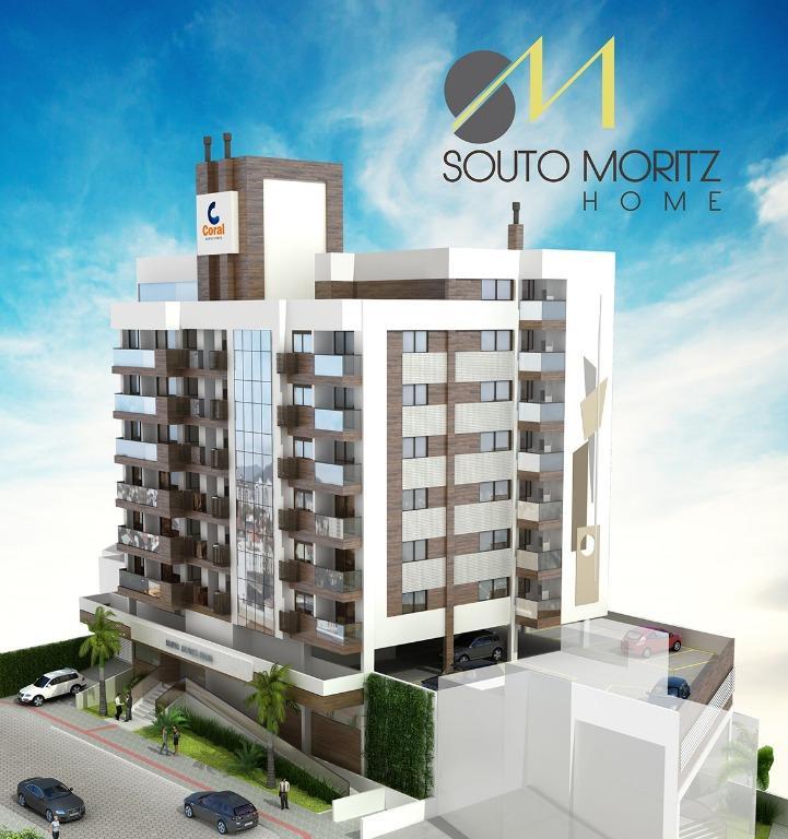 Souto Moritz de 1 a 2 dormitórios em Coqueiros, Florianópolis - SC