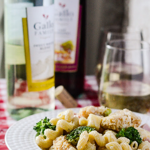 Chicken Cordon Bleu Pasta Salad #SundaySupper