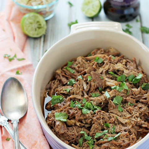 Crockpot Chocolate Stout Pulled Pork