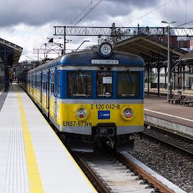 Gdansk Glowny by Rune Nilssen - Transportation Trains ( k3, gdansk, pentax, train, gdynja, glowny, sopot )