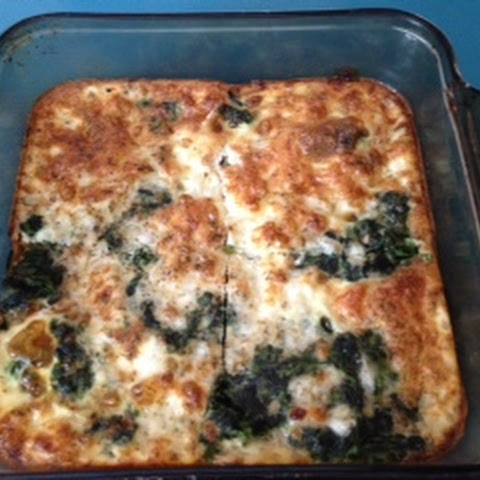 Spinach Cottage Cheese Casserole