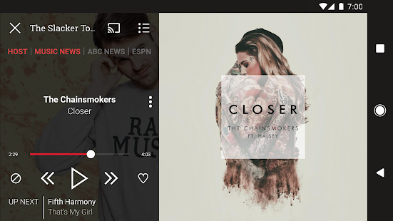 Download Android App Slacker Radio for Samsung