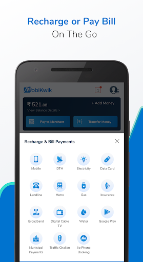 Recharge, Payments & Wallet screenshot 2