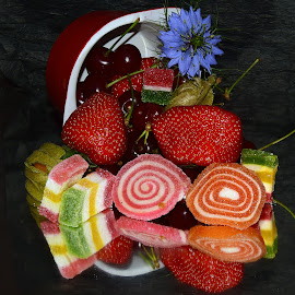 candys and fruits by LADOCKi Elvira - Food & Drink Candy & Dessert