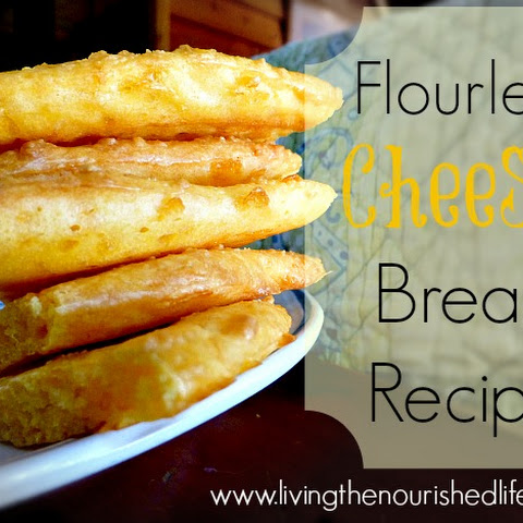 Flourless Cheesy Bread