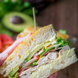 Chicken Bacon Avocado Sandwich