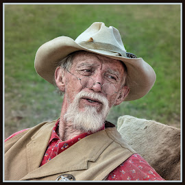 by Judy Rosanno - People Portraits of Men ( historical character, march 2018, re-enactment, texas, texas ranger, fredericksburg,  )