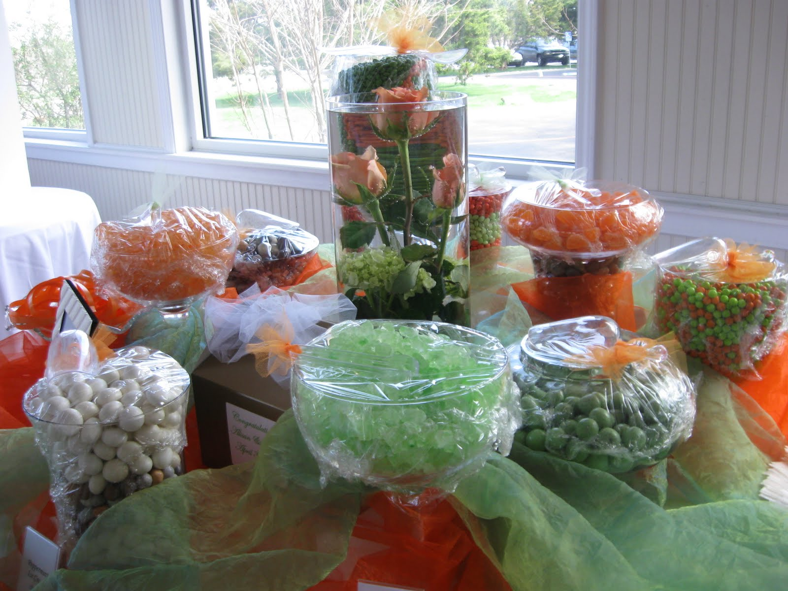 candy bar for wedding