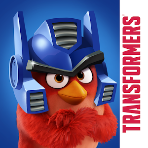 Cover art Angry Birds Transformers