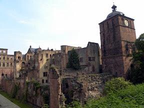 Razvaline gradu nad Heidelbergom