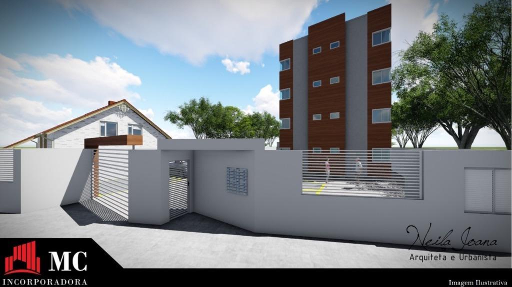Apartamento com 2 dormitórios à venda, 54 m² por R$ 145.000 - Joaia - Tijucas/SC