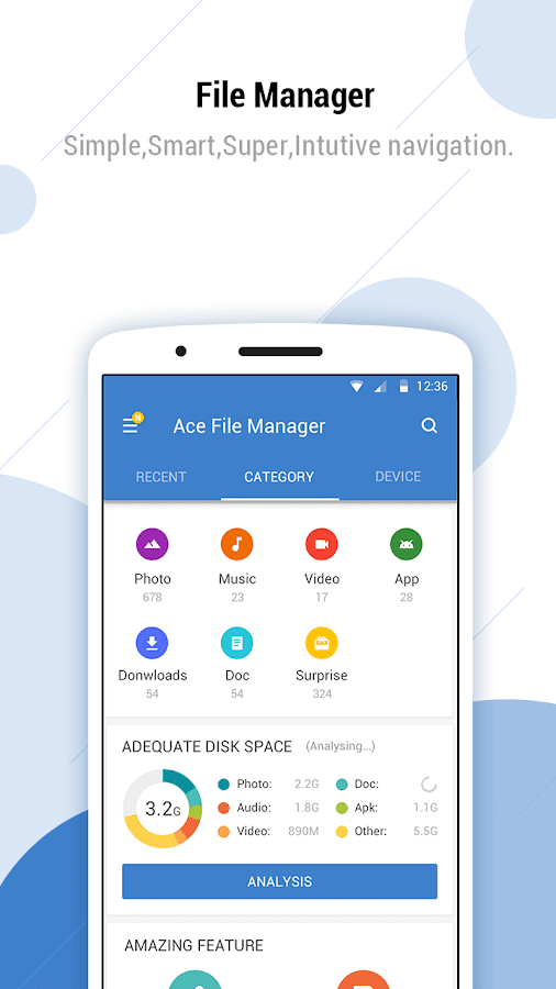 Ace File Manager (Explorer & Transfer) android apps download