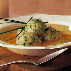Chicken Soup with Herbed Matzoh Balls