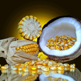 corn n nut by Asif Bora - Food & Drink Fruits & Vegetables