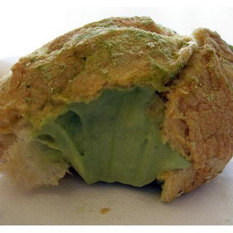 Easy Green Tea Cream Puffs