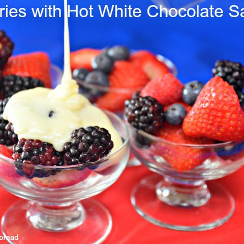How To Make Easy Dessert With Berries White Chocolate
