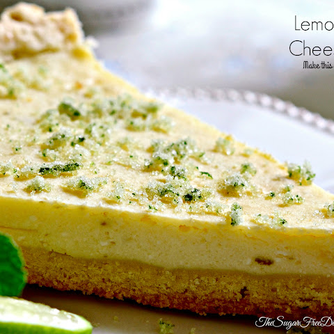 DELICIOUS Lemon Lime Cheesecake