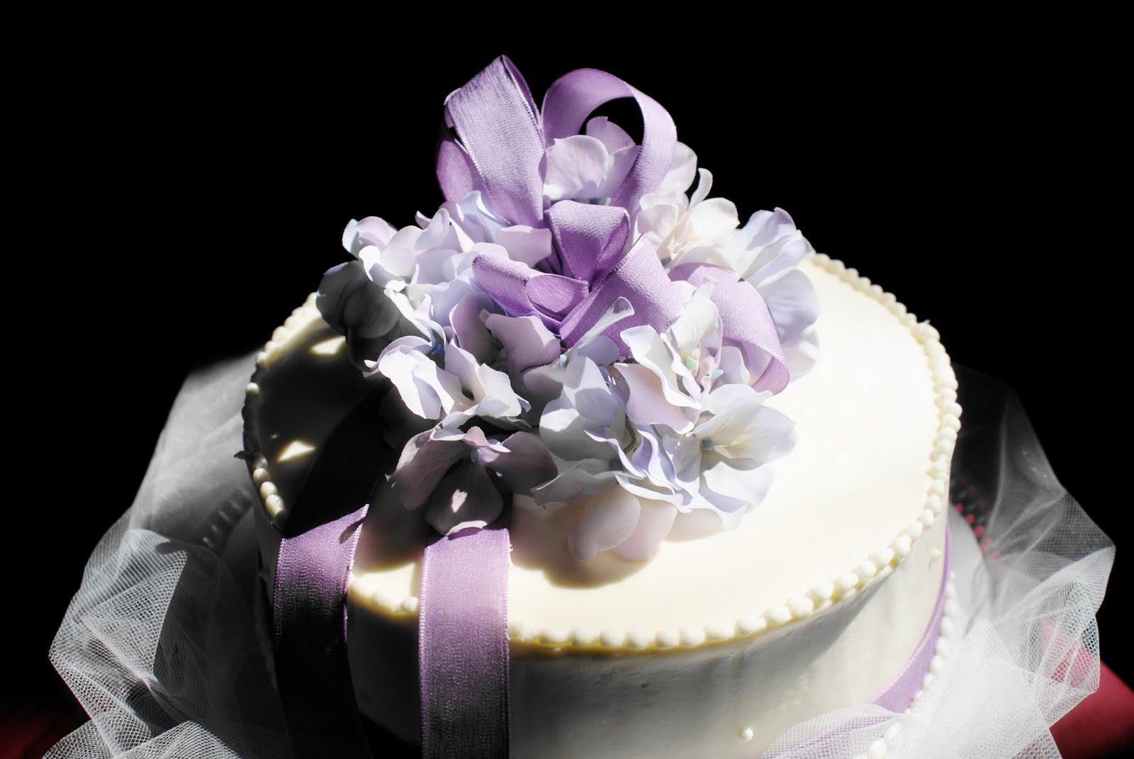 She made my own wedding cake