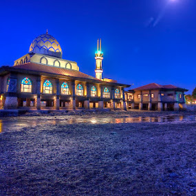 Mosque at Kuala Perlis by Sham ClickAddict - Buildings & Architecture Architectural Detail