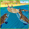 Game Wild Crocodile Beach Attack 3D APK for Kindle