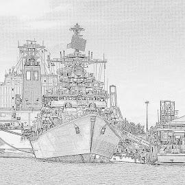 Coast guard by Sanjeev Goyal - Drawing All Drawing ( get, set, run, and, go )