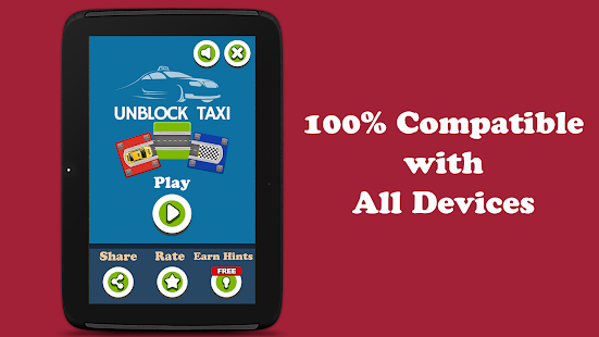Unblock Taxi - Auto Slide Puzzle Screenshot