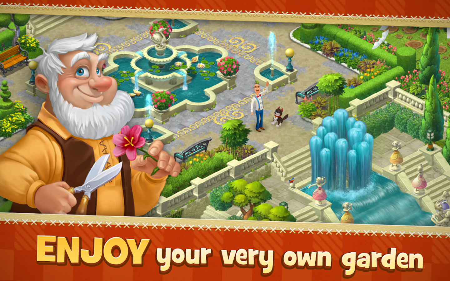 Gardenscapes - New Acres Screenshot 15