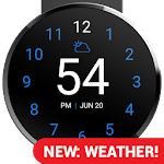 Just A Minute: Wear Watch Face Icon